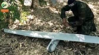 Allahu Ekber! Gazze Direnişçilerine Ait Ebail İHA'sı Sderot'ta Askeri Bir Hedefi Bombaladı