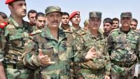 Suriye Savunma Bakanı Lazkiye'de ''Özel Birlikleri'' Denetledi