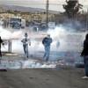 Siyonist rejim güçleri, Ramallah'a bağlı Belin köyünde yapılan gösteriye sert müdahale etti
