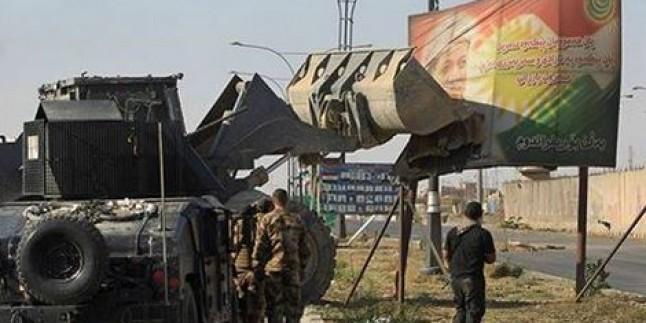 Irak ordusu, hedeflediği yerlerin tamamını Siyonist Barzani'den geri aldı