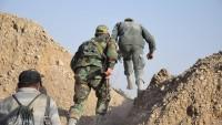 Tekfirci Teröristlerinin Homs Kırsalındaki Mevzileri İmha Edildi