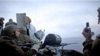 Korsan İsrail donanması topçusu Gazze sahillerine taciz ateşi açtı