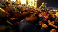 Siyonist Soros Sermayeli Üniversite İçin Macaristan'da Protesto