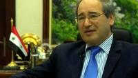 Suriye dışişleri bakanı yardımcısı: Suriye, Filistin davası ve bütün Arap davalarını kendi davası olarak görüyor
