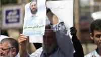Mescid-i Aksa'da Filistinli esir Muhammed Alan'a destek gösterisi düzenlendi