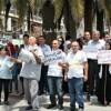 Nablus'ta Pahalılığı Protesto Gösterileri Düzenlendi