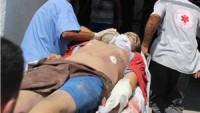 Gazze'nin güneyinde Rafah kentinde patlama gerçekleşti