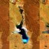 Bolivya'nın ikinci büyük gölü Poopo buharlaşıp yok oldu