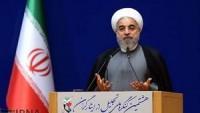 Ruhani: İran halkı hiçbir tehdit ve baskı karşısında teslim olmayacaktır