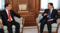 Beşşar Esad: Venezüella'daki Olaylar, ABD ile Müttefiklerinin Suriye'de Çıkardığı Krizin Benzeri
