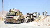 Suriye Ordusu Murak Ve Al-Lataminah Kentlerinde Terör Örgütlerinin Toplanma Merkezini Hedef Aldı