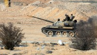 Suriye ordusu, teröristlerin mevzilerini imha etti