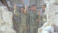Suriye Ordusu Doğu Şam'da büyük ilerleme kaydetti