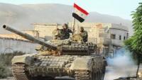 Suriye Ordusu IŞİD'in Bağlantı Yollarını Ele Geçirdi