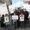 Abbas güçlerinin Hamas'a yönelik tutuklamaları protesto edildi