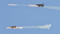 Suriye Uçakları Terörist hedeflere bomba yağdırdı