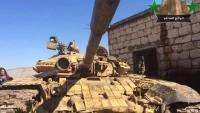 Suriye ordusu Nusra teröristlerine ait tankı ele geçirdi