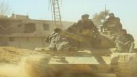Suriye Ordusunun Doğu Guta Bölgesindeki Operasyonları Sürüyor