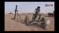 Suriye ordusu Tedmur beldesinin büyük bir kısmını kuşattı
