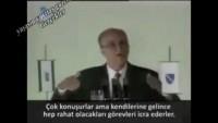 Video: Aliya İzzet Begoviç, Oy Verilmemesi Gereken 4 Grup İnsandan Bahsetmiş