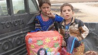 Büyük Şeytan ABD, Musul'da sivillere ait bir evi bombaladı