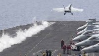 Katil Amerika Ordusuna Ait F-16 Savaş Uçağı Düştü