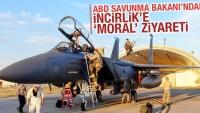 ABD Savunma Bakanı Ashton Carter, Adana'nın İncirlik Hava Üssü'ne geldi