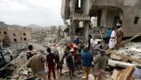 Suudi Rejim Yemen'de Okulu Bombaladı