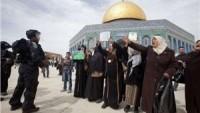 Siyonist İsrail Savcılığından Mescidi Aksa'da Tekbir Yasağı Talebi