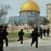 Siyonistler yine Mescid-i Aksaya saldırdı