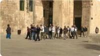 Siyonistler Bu Sabah Yine Mescid-i Aksa'ya Baskın Düzenledi