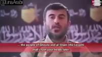 Video: Gebertilen Azılı Terörist Zehran Alluş, Ehli Beyt'in Katilleri Beni Ümeyye'nin Yolunda Olduklarını İtiraf Ediyor