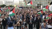 Almanya Halkı Mescidi Aksa Savunucularını Yalnız Bırakmadı