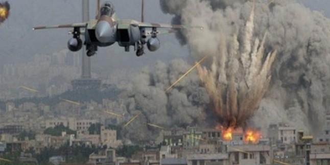 Amerika elebaşlığındaki koalisyon güçlerinin son üç günde Suriye´ye düzenledigi saldırılarında en az 45 sivil öldü