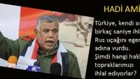 Bedir Grubu Lideri Amiri: Türkiye hangi hakla topraklarımızı ihlal ediyor?