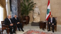 Mişel Aoun: Suriye krizinin siyasi yollarla çözülmesini istiyoruz