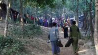 Myanmar'da Arakanlılara ait 1500 ev ordu tarafından yıkıldı