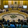 Arap görünümlü siyonist meclis başkanlarının oturumunda İran tekrar suçlandı