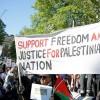 Avusturya'da Halk Siyonist İsrail Rejiminin Vahşi Saldırılarını Protesto Etti