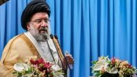 Tahran Cuma Namazı İmamı Ayetullah Hatemi: ABD İle Asla İlişki Kurmayacağız