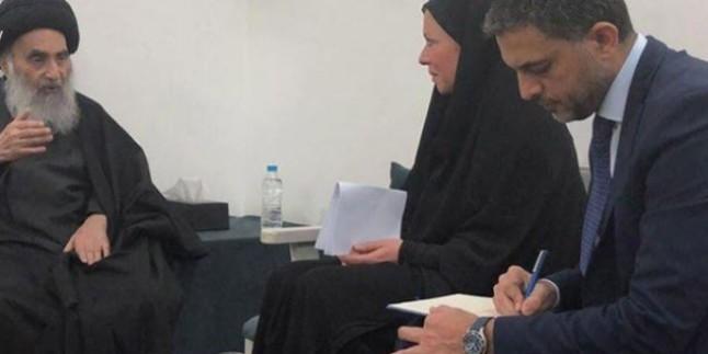 Iraklı partiler: Ayetullah Sistani'nin konuşmaları Irak iç ve dış siyasetinin yol haritasıdır