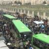 Terörist Gruplar Humus'tan Ayrılmaya Devam Ediyor