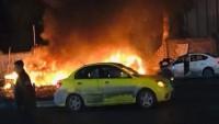 Irak'ın Sadr Semtinde Teröristlerce Düzenlenen Bombalı Saldırıda 8 Sivil Şehid Oldu, 12 Sivil de Yaralandı