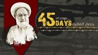 Ayetullah İsa Kasım'ın ev hapsinde tutulması 45'ci gününe girdi