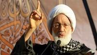 Siyonist Bahreyn Askerleri Şeyh İsa Kasım'ın Evini Kuşattı