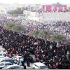 Kahraman Bahreyn halkı tutuklarla dayanışma gösterisi düzenledi