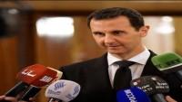 Beşşar Esad: Vatanına, Ordusuna ve Halkına Karşı Yabancı Güçlerle İşbirliği Yapanlar Haindir