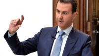 Beşşar Esad: IŞİD Teröristleri Tedmur Saldırısında Başka Ülkelerden Destek Aldı