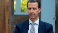 Beşşar Esad: Suriye, milletine dayanarak teröre karşı direniyor