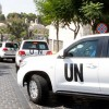 Suriye, 47 BM denetçisinin Şam'a girişine izin verdi